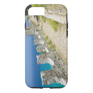 Italy, Sicily, Cefalu, Cliffside Walkway, La iPhone 8/7 Case