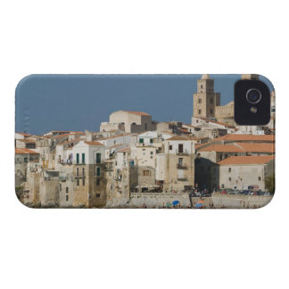 Italy, Sicily, Cefalu, Town View with Duomo from Case-Mate iPhone 4 Case