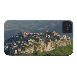 Italy, Sicily, Enna, Calascibetta, Morning View 2 iPhone 4 Case-Mate Cases