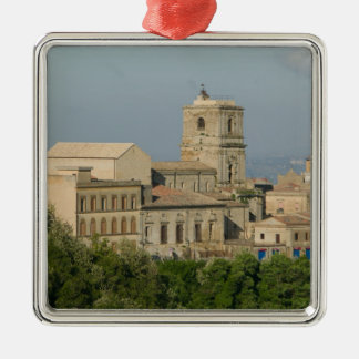 Italy, Sicily, Enna, Town View from Rocca di 2 Christmas Ornament