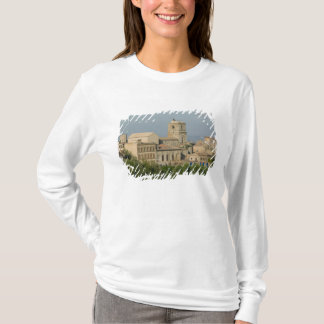 Italy, Sicily, Enna, Town View from Rocca di 2 T-Shirt