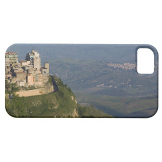 Italy, Sicily, Enna, Town View from Rocca di iPhone 5 Case