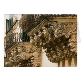 ITALY, Sicily, NOTO: Finest Baroque Town in Card