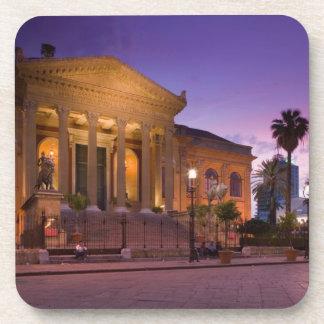 Italy, Sicily, Palermo, Teatro Massimo Opera Coaster