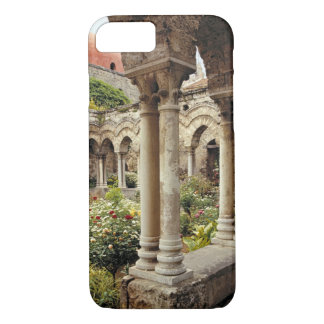 Italy, Sicily, Palermo. The cloisters survive as iPhone 8/7 Case