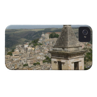 ITALY, Sicily, RAGUSA IBLA: Town View and Santa Case-Mate iPhone 4 Case