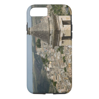 ITALY, Sicily, RAGUSA IBLA: Town View and Santa iPhone 8/7 Case