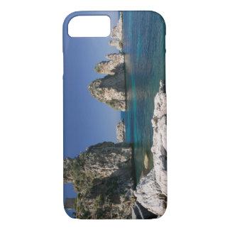 Italy, Sicily, Scopello, Rocks by Tonnara iPhone 8/7 Case