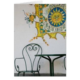 ITALY, Sicily, TAORMINA: Bam, Bar Cafe Detail Card