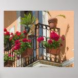 ITALY, Sicily, TAORMINA: Corso Umberto 1, Print
