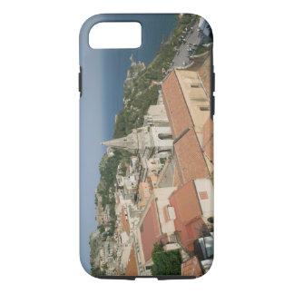ITALY, Sicily, TAORMINA: View towards Piazza IX iPhone 8/7 Case
