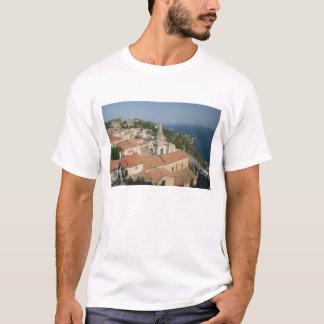 ITALY, Sicily, TAORMINA: View towards Piazza IX T-Shirt