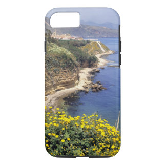 Italy, Sicily. The north coast of Sicily in iPhone 8/7 Case