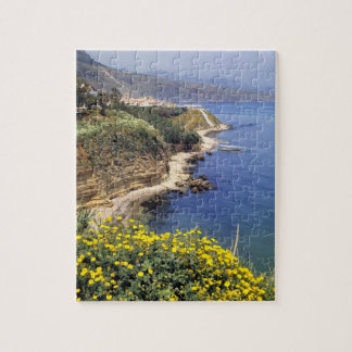 Italy, Sicily. The north coast of Sicily in Jigsaw Puzzle