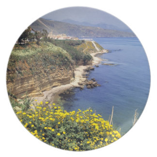 Italy, Sicily. The north coast of Sicily in Plate