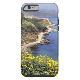 Italy, Sicily. The north coast of Sicily in Tough iPhone 6 Case