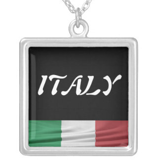 Italy Silver Plated Necklace