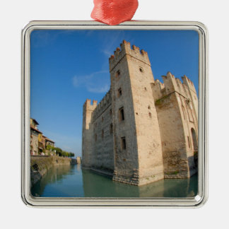 Italy, Sirmione, Lake Garda, the Scaliger Christmas Ornament
