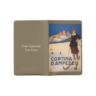 Italy Skiing custom notebook
