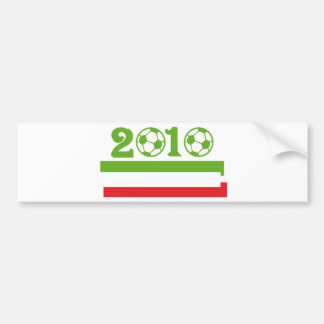 Italy soccer 2010 bumper stickers