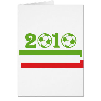 Italy soccer 2010 cards