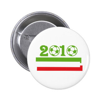 Italy soccer 2010 pinback button