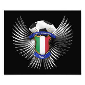Italy Soccer Champions Photo Print