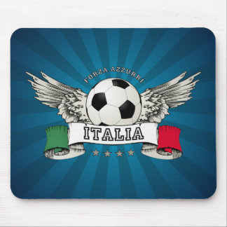 Italy Soccer National Team Supporter mousepad
