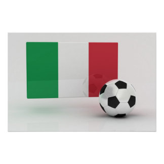 Italy Soccer Poster