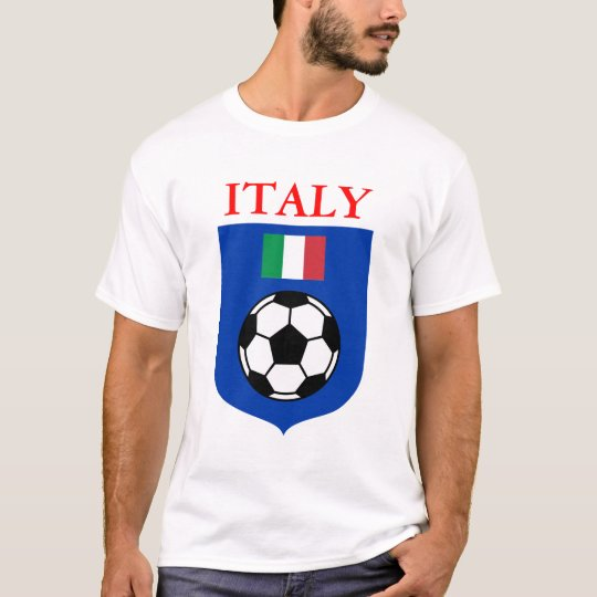 Italy Soccer Shield T-Shirt