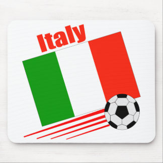 Italy Soccer Team Mouse Mat