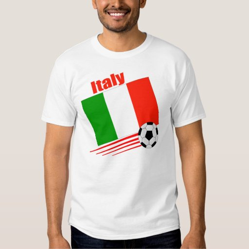 Italy Soccer Team T Shirts