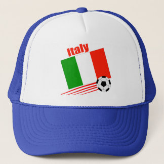 Italy Soccer Team Trucker Hat