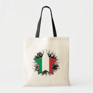 Italy Star Tote Bags