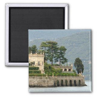 Italy, Stresa, Lake Maggiore, Isola Bella 2 Square Magnet