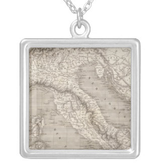 Italy, Switzerland and Tyrol Austrian provinces Silver Plated Necklace