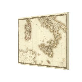Italy, Switzerland, Illyria North Canvas Print