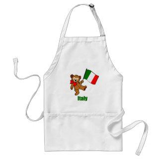 Italy Teddy Bear Aprons
