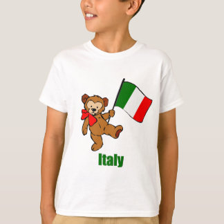 Italy Teddy Bear T-Shirt