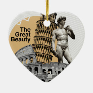 Italy, The Great Beauty Christmas Ornament