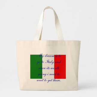 Italy Jumbo Tote Bag