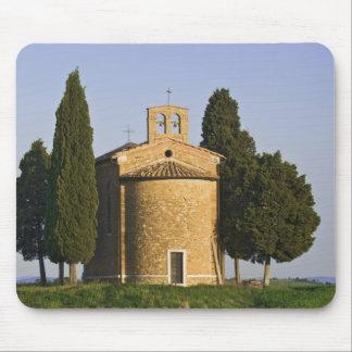 Italy, Tuscany. Close-up of Chapel of Vitaleta Mouse Pad