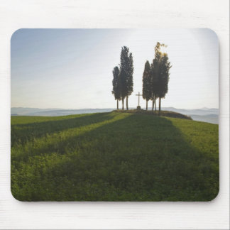 Italy, Tuscany, Cypress Trees in Tuscany with Mouse Mat