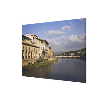 Italy, Tuscany, Florence. Daytime view of the Stretched Canvas Print