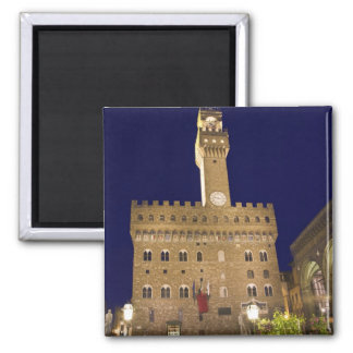 Italy, Tuscany, Florence. Nighttime dining Magnet