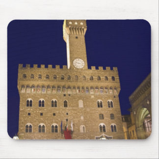 Italy, Tuscany, Florence. Nighttime dining Mouse Mat