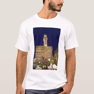 Italy, Tuscany, Florence. Nighttime dining T-Shirt
