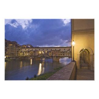 Italy, Tuscany, Florence. Ponte Vecchio Art Photo