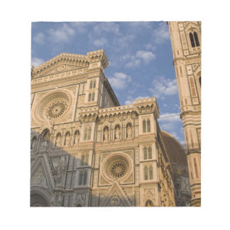 Italy, Tuscany, Florence. The Duomo. Notepad
