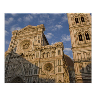 Italy, Tuscany, Florence. The Duomo. Poster